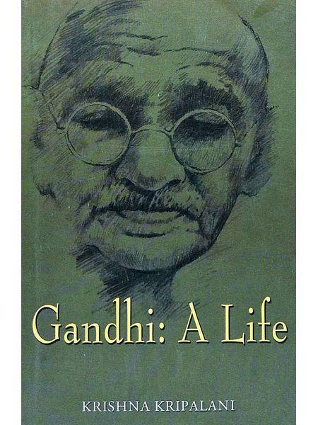Gandhi A Life By Krishna Kripalani-(English)