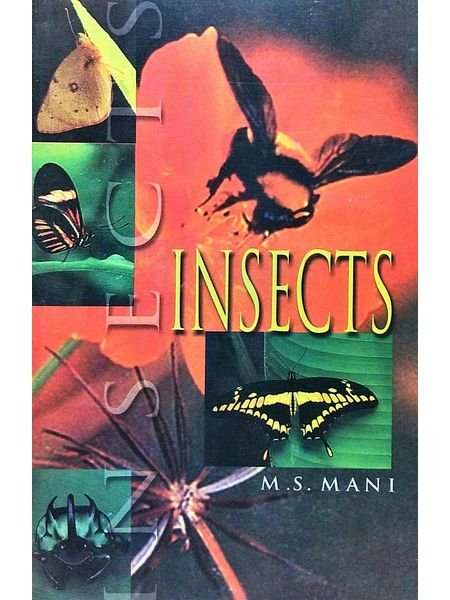 Insects By M S Mani-(English)