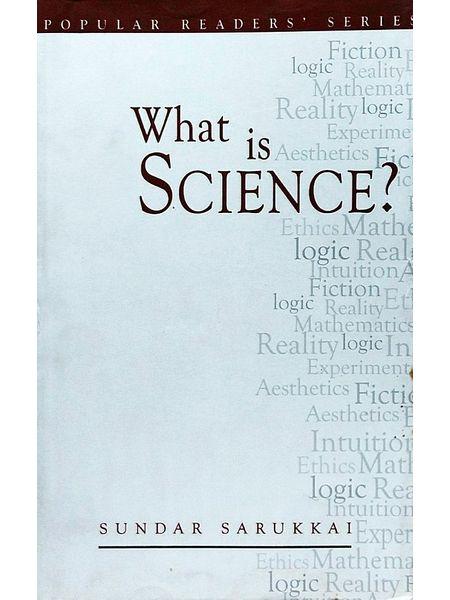 What Is Science By Sundar Sarukkai-(English)
