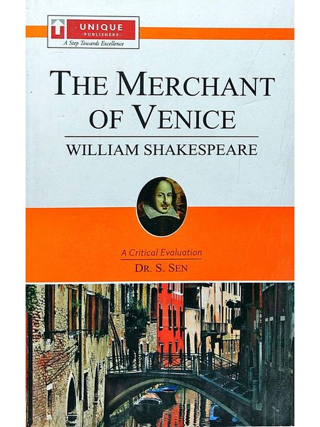 William Shakespearethe Merchant Of Venice By Dr S Sen-(English)