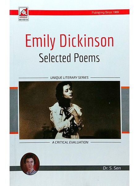 Emily Dickinson Selected Poems By Dr S Sen-(English)