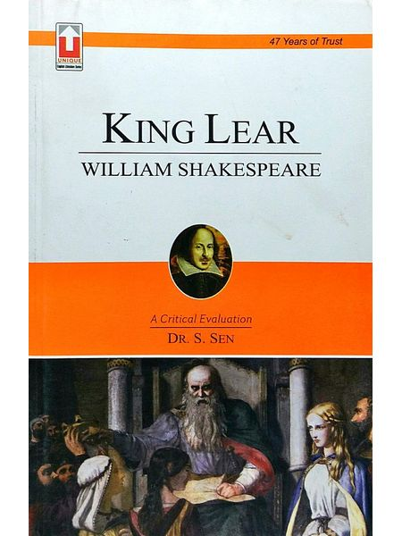 William Shakespeare King Lear By Dr S Sen-(English)