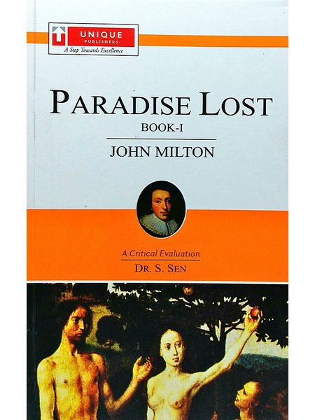 John Miltonparadise Lost Book 1 By Dr S Sen-(English)