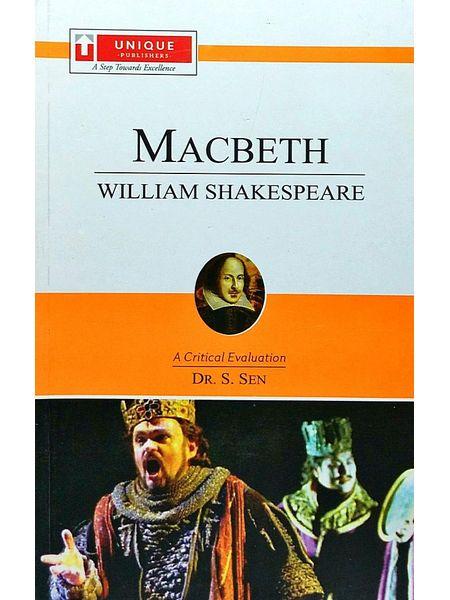 William Shakespeare Macbeth By Dr S Sen-(English)