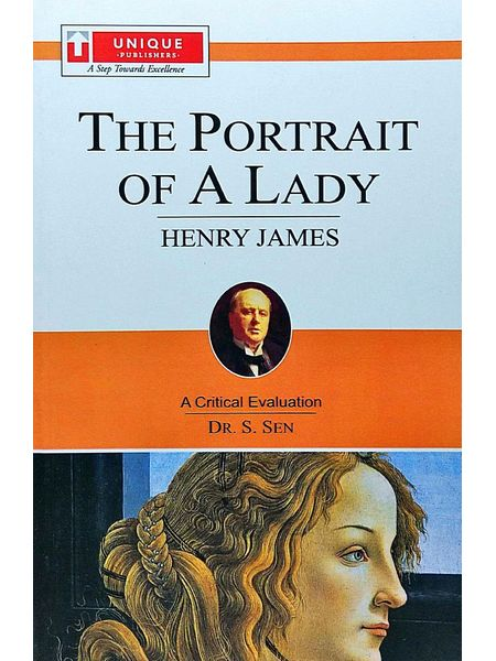 Henry James The Portrait Of A Lady By Dr S Sen-(English)