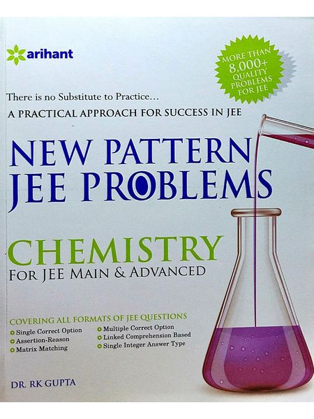 New Pattern Jee Problems Chemistry For Jee Main & Advanced By Dr R K Gupta-(English)