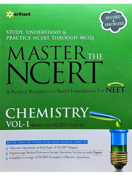 Master The Ncert Chemistry Vol 1 By Narendra Jha-(English)