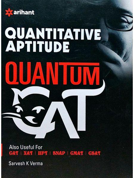Quantitative Aptitude Quantum Cat By Sarvesh K Verma-(English)