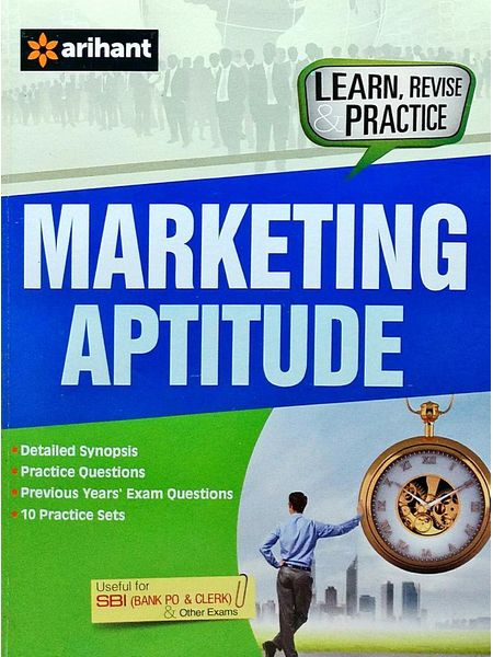 Marketing Aptitude By Madhumita Pattrea-(English)