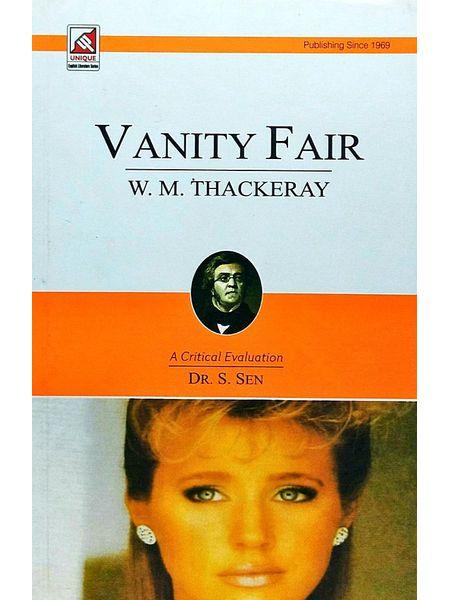 Thackeray Vanity Fair By Dr S Sen-(English)