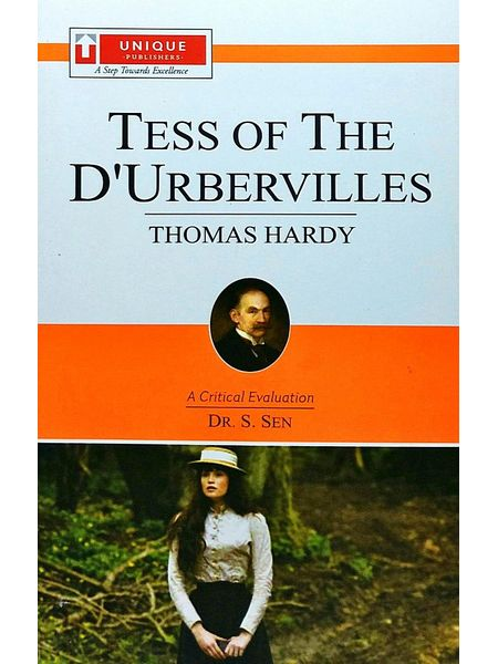 Thomas Hardy Tess Of D Urberillies By Dr S Sen-(English)