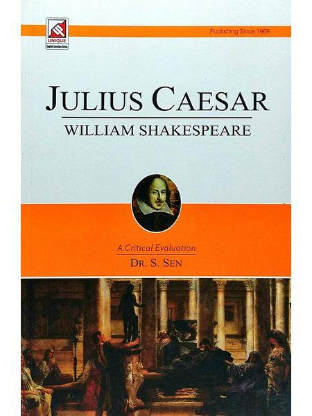 Julius Caesar William Shakespeare By Dr S Sen-(English)