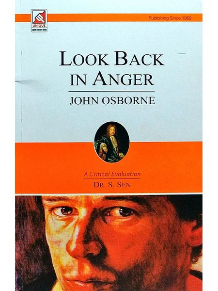 Look Back In Anger By John Osborne-(English)