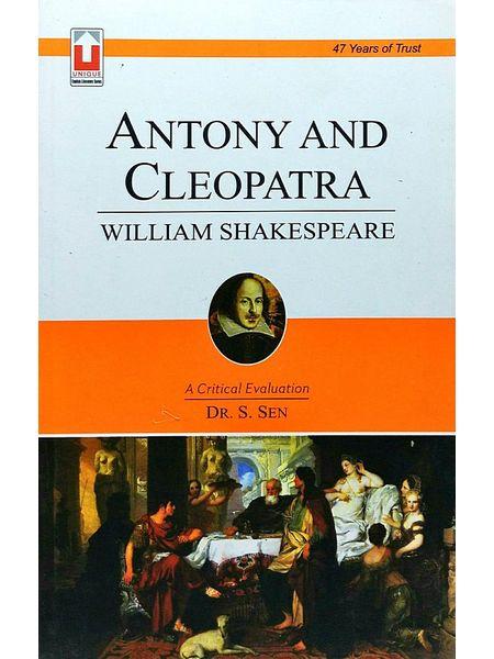 Antony And Cleopatra By Dr S Sen-(English)