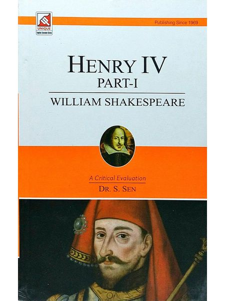William Shakespeare Henry 5 Part 1 By Dr S Sen-(English)
