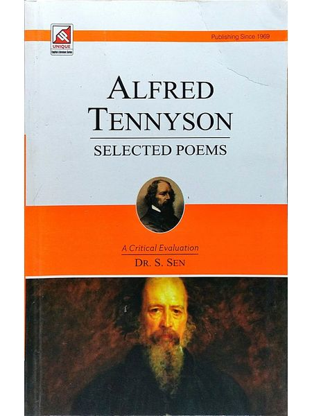 Alfred Tennyson Selected Poems By Dr S Sen-(English)