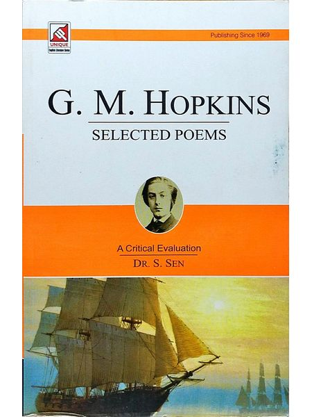 G M Hopkins By Dr S Sen-(English)