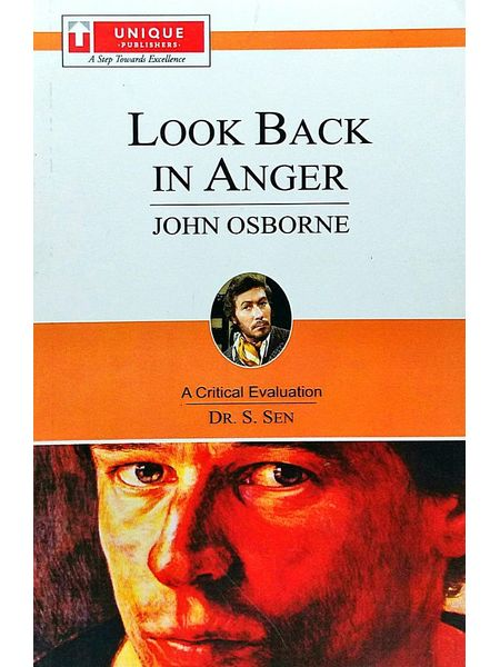 John Obborn Look Back In Anger By Dr S Sen-(English)