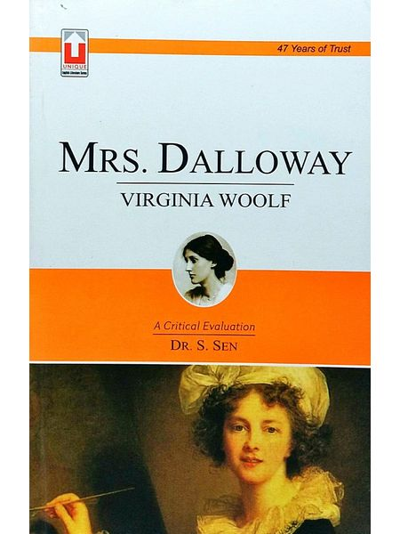 Mrs Dalloway By Dr S Sen-(English)