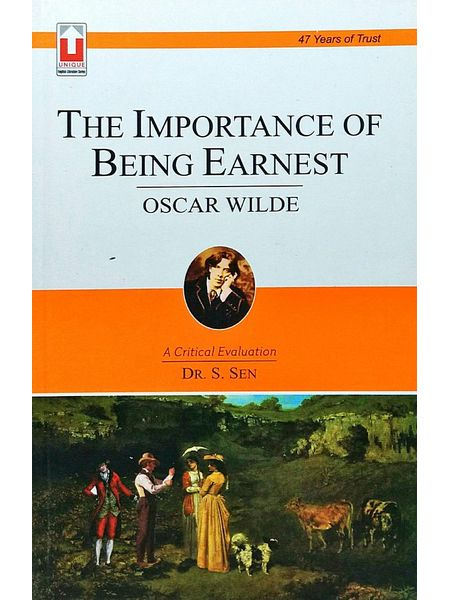 The Importance Of Being Earnest By Dr S Sen-(English)