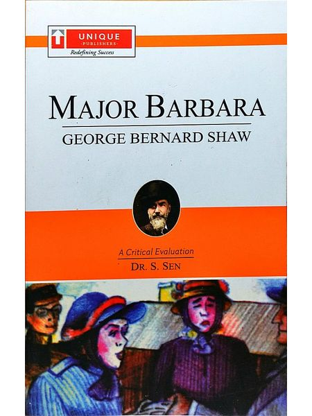 Major Barbara By Dr S Sen-(English)