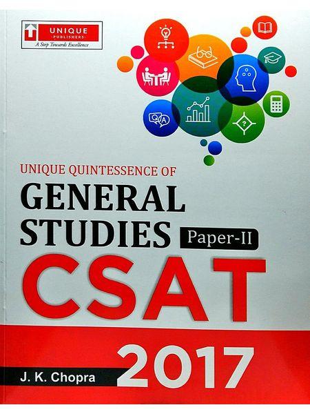 General Studies 2017 Paper 2 By J K Chopra-(English)
