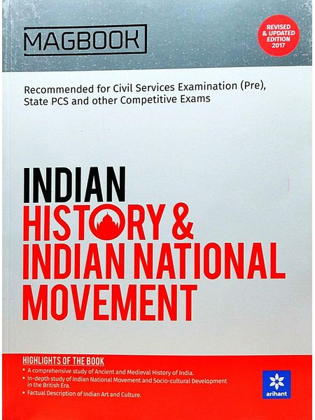 Magbook Indian History And Indian National Movement By Raushan Kumar-(English)