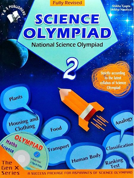 National Science Olympiad Class 2 With Cd By Shikha Gupta, Shikha Nautiyal-(English)
