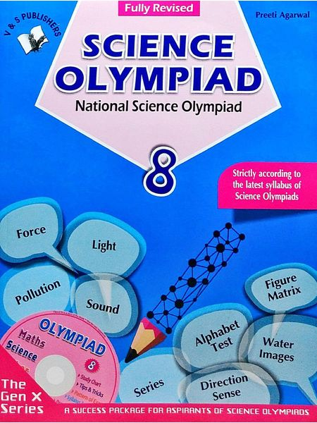 National Science Olympiad Class 8 With Cd By Preeti Agarwal-(English)