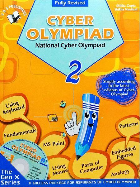 National Cyber Olympiad Class 2 With Cd By Shikha Gupta And Shikha Nautiyal-(English)