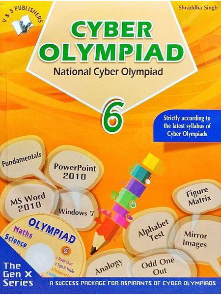 National Cyber Olympiad Class 6 With Cd By Shraddha Singh-(English)