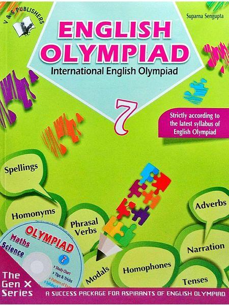 International English Olympiad Class 7 With Cd By Suparan Sengupta-(English)