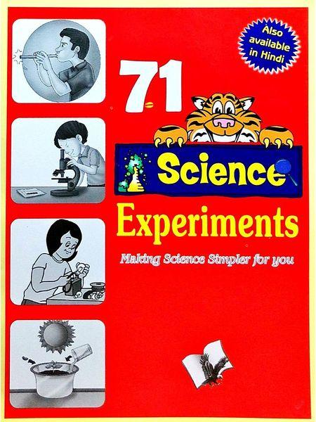 71 Science Experiments By Vikas Khatri-(English)