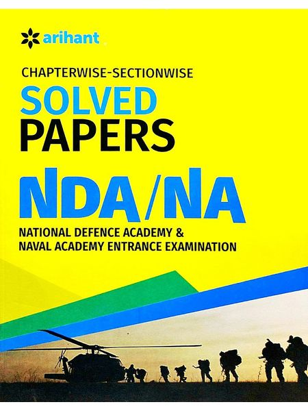 Chapterwise-Sectionwise Solved Papers Nda & Na By Arihant Experts-(English)