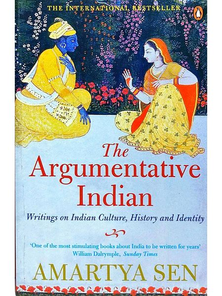 The Argumentative Indian By Amartya Sen-(English)