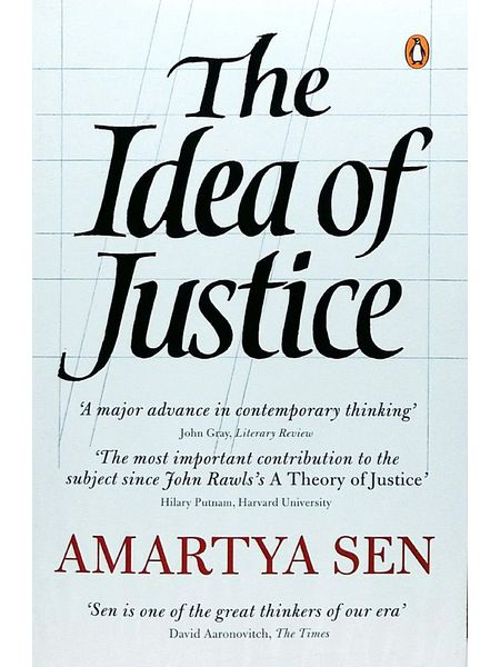The Idea Of Justice By Amartya Sen-(English)