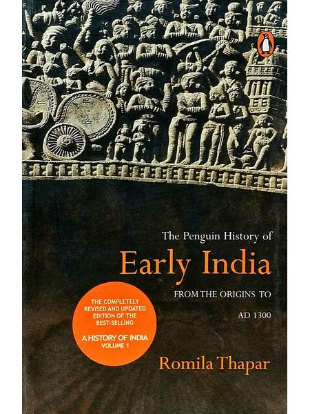 The Penguin History Of Early India: From The Origins To Ad 1300 By Romila Thapar-(English)