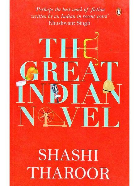 Great Indian Novel By Shashi Tharoor-(English)