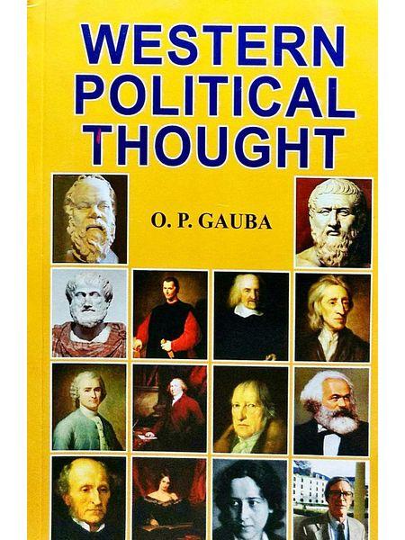 Western Political Thought By O P Gauba-(English)