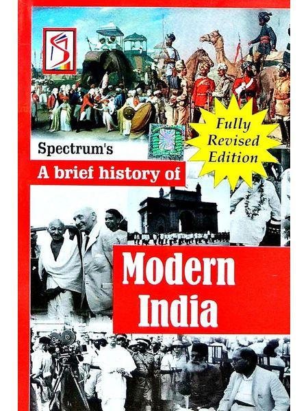 A Brief History Of Modern India By Rajiv Ahir-(English)