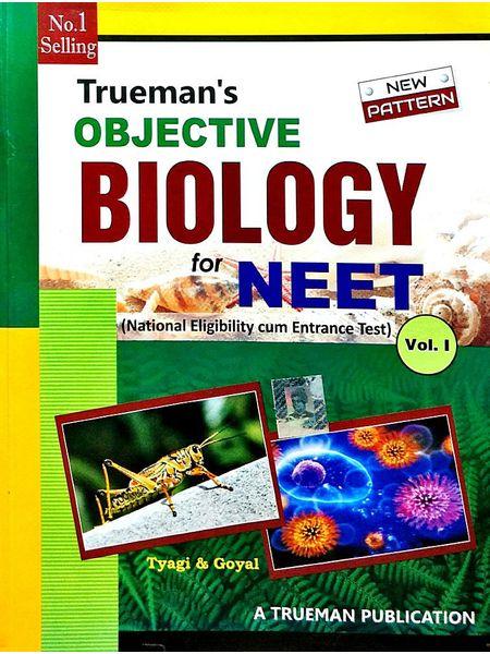 Trueman'S Objective Biology For Neet Vol 1,2 By Dr M P Tyagi, Dr Arvind Goyal-(English)