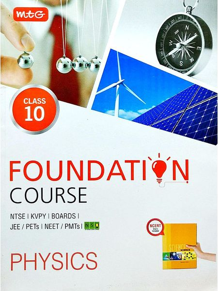 Physics Foundation Course For Class 10 By Mtg Editorial Board-(English)
