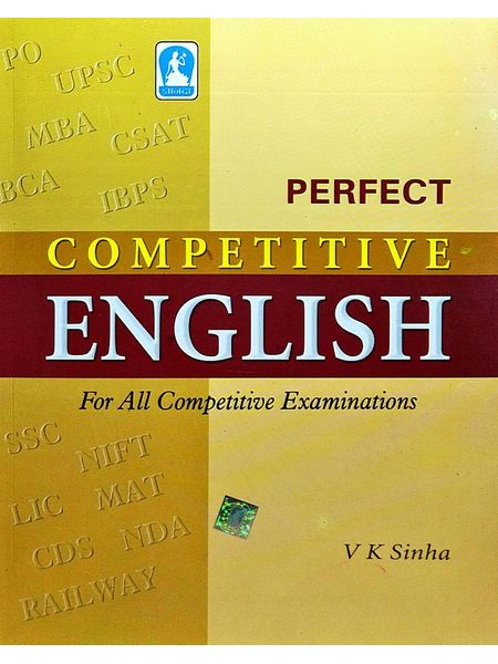 Perfect Competitive English By V K Sinha-(English)