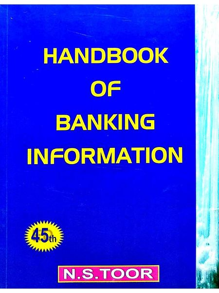 Handbook Of Banking Information By N S Toor-(English)