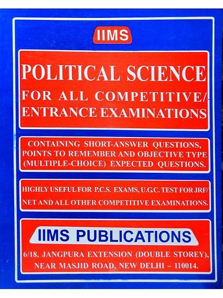 Iims Political Science By Gopal K Puri-(English)