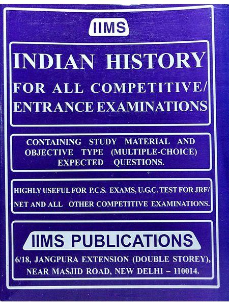 Iims Indian History By Gopal K Puri-(English)