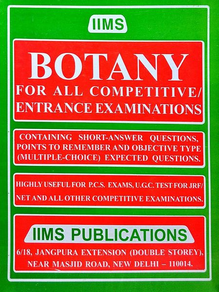 Iims Botany By Gopal K Puri-(English)