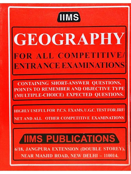 Iims Geography By Gopal K Puri-(English)