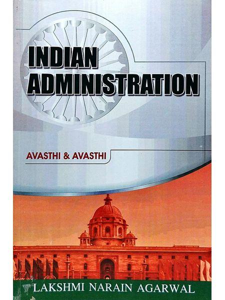 Indian Administration By Avasthi And Avasthi-(English)