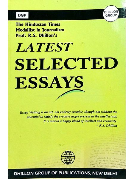 Latest Selected Essays By S Rajinder Dhillon-(English)